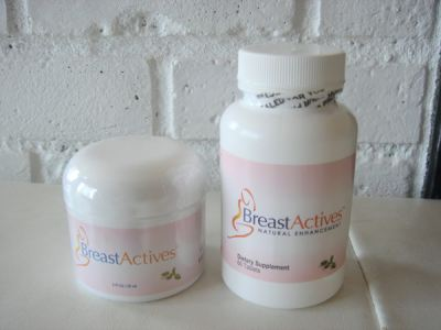 My Breast Actives pills and cream!