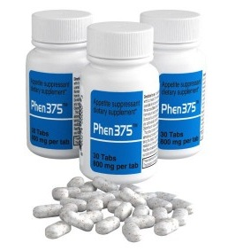 phen375 tablets and packaging