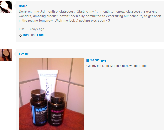 gluteboost pills reviews