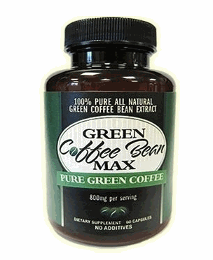 Pure Green Coffee Bean max bottle