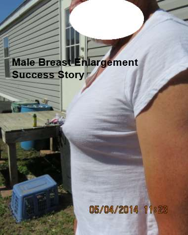 male breast enlargement success story