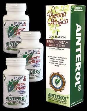Ainterol Pueraria Mirifica Pills and Cream