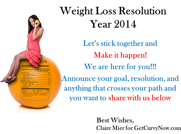weight loss new year resolution getcurvynow