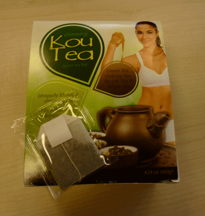 Koutea weight loss tea