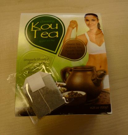 Koutea weight loss tea